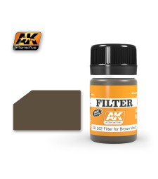 AK262 DARK FILTER FOR WOOD  - Weathering Products (35 ml)