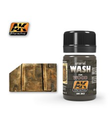 AK263 WASH FOR WOOD  - Weathering Products (35 ml)