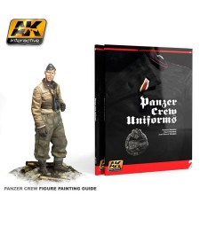 AK272 PANZER CREW UNIFORMS PAINTING GUIDE. LEARNING SERIES 02