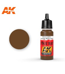 AK3031 Brown Leather / Camouflage Medium Brown - Figure Series Acrylic Paints (17 ml)