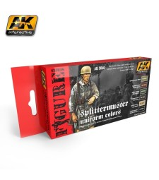 AK3040 SPLITTERMUSTER UNIFORM COLORS SET - Figures Series Set (6 x 17 ml)