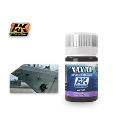 AK305 STREAKING GRIME FOR LIGHT GREY SHIPS   (35 ml) - Weathering Products for Ships