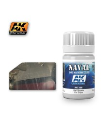 AK306 SALT STREAKS FOR SHIPS   (35 ml) - Weathering Products for Ships