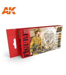 AK3110 D.A.K. SET - Figures Series Set (6 x 17 ml)