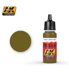AK-3122 RUSSIAN UNIFORM BASE  - Figure Series Acrylic Paints (17 ml)