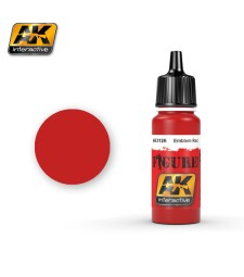 AK3126 EMBLEM RED - Figure Series Acrylic Paints (17 ml)