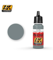 AK-3146 GREY BLUE & GERMAN GREY UNIFORM LIGHT - Figure Series Acrylic Paints (17 ml)
