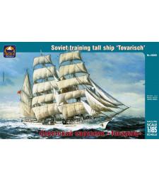 "1:185 Russian training tall ship ""Tovarisch"""