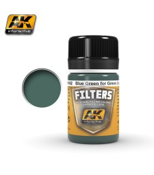 AK4162 LIGHT FILTER FOR GREEN VEHICLES  - Weathering Products (35 ml)