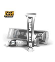 AK458 TRUE METAL SILVER  (20 ml) - True Metal Waxes