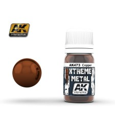 AK473 XTERME METAL COPPER  (30 ml) - Xtreme Metal Color