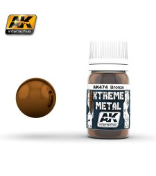 AK474 XTREME METAL BRONZE  (30 ml) - Xtreme Metal Color