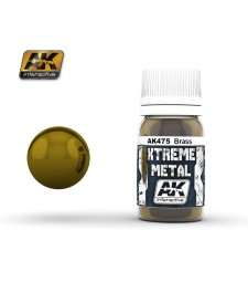 AK475 XTREME METAL BRASS  (30 ml) - Xtreme Metal Color