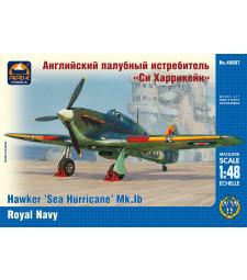 "1:48 Hawker ""Sea Hurricane"" Mk.IB British carrier-borne fighter, the Fleet Air Arm of the Royal Navy"