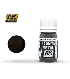 AK484 XTREME METAL BURNT METAL  (30 ml) - Xtreme Metal Color