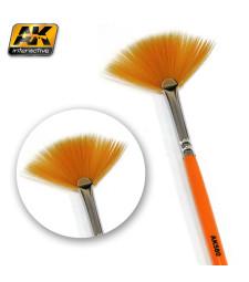 AK580 Weathering brush fan shape