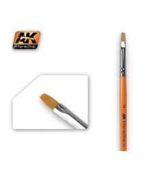 AK609 Flat Brush 2 Synthetic