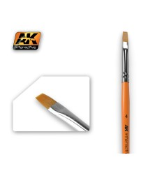 AK610 Flat Brush 4 Synthetic
