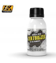 AK665 TEXTURIZER ACRYLIC RESIN (100 ml)  - Auxiliary Products
