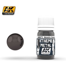 AK671 XTREME METAL SMOKE METALLIC  (30 ml) - Xtreme Metal Color