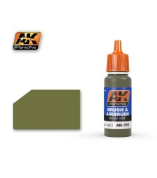 AK-705 RAL7008 GRAUGRUN OPT 2 - Blue Label Acrylic Paints (17 ml)
