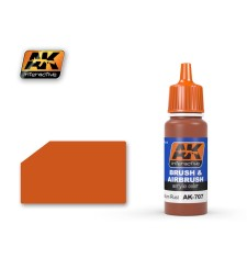 AK707 MEDIUM RUST - Blue Label Acrylic Paints (17 ml)
