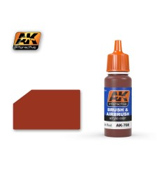 AK708 DARK RUST - Blue Label Acrylic Paints (17 ml)