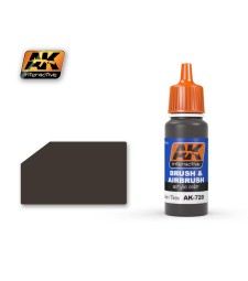 AK720 RUBBER & TIRES - Blue Label Acrylic Paints (17 ml)