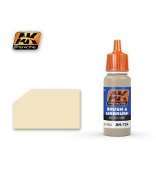 AK724 DRY LIGHT MUD - Blue Label Acrylic Paints (17 ml)
