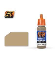 AK728 RAL8031 F9 GERMAN SAND BEIGE - Blue Label Acrylic Paints (17 ml)