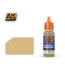 AK730 WOODEN DECK - Blue Label Acrylic Paints (17 ml)