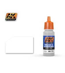 AK751 WASHABLE WHITE PAINT - Blue Label Acrylic Paints (17 ml)