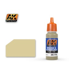AK779 WOOD BASE - Blue Label Acrylic Paints (17 ml)