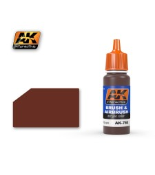 AK780 DARK WOOD GRAIN - Blue Label Acrylic Paints (17 ml)