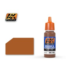 AK782 VARNISHED WOOD - Blue Label Acrylic Paints (17 ml)