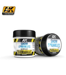 AK8009 SNOW SPRINKLES - (100 ml, Acrylic)  - Texture Products