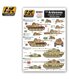 AK802 The ARDENNES Campaign 1944-45 German Tanks