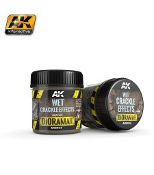 AK8034 WET CRACKLE EFFECTS - (100 ml, Acrylic)  - Texture Products