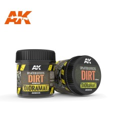 AK-8035 Splatter Effects Dirt (100 ml, Acrylic) - Texture Products
