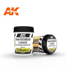 AK8039 FOAM TEXTURIZER & SEALER – FOR BUILDINGS AND DIORAMAS 250ML - Texture Product