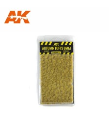 AK8116 Autumn tufts (6 mm) - Texture Products