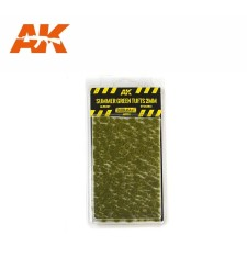AK8124 Summer green tufts (2 mm) - Texture Products