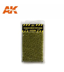 AK8120 Summer green tufts (6 mm) - Texture Products