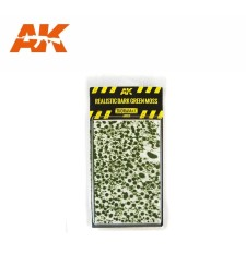 AK8131 Realistic dark green moss - Texture Products