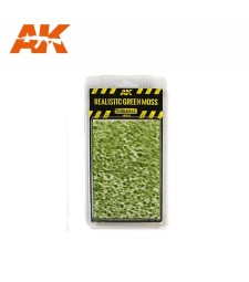 AK8132 Realistic green moss - Texture Products