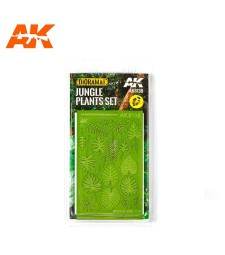 AK8138 Jungle Plants Set (1:32 and 1:35)