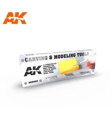 AK9005 CARVING TOOLS DELUXE BOX