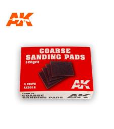 AK9016 Coarse Sanding Pads 120 grit. 4 units