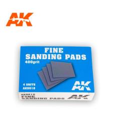 AK9018 Fine Sanding Pads 400 grit. 4 units