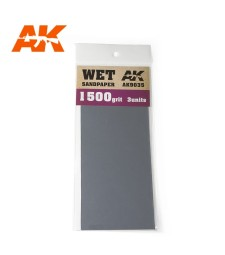 AK9035 Wet Sandpaper 1500 Grit. 3 units